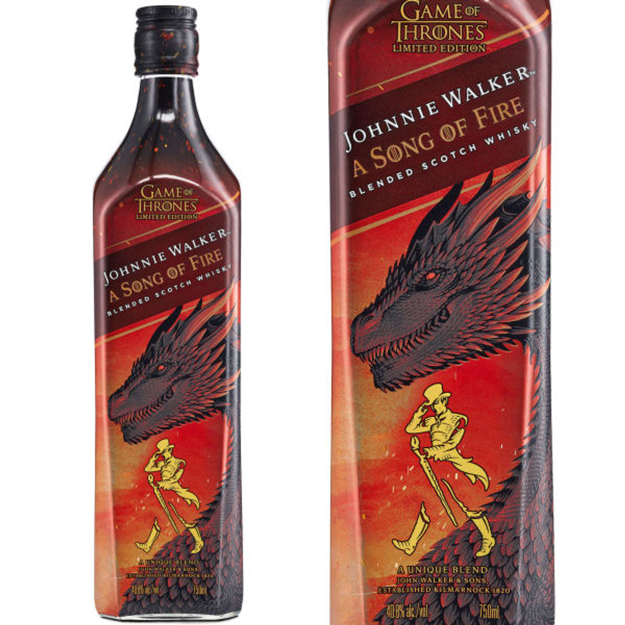 Johnnie Walker A Song of Fire Game Of Thrones Blended Scotch 750ml