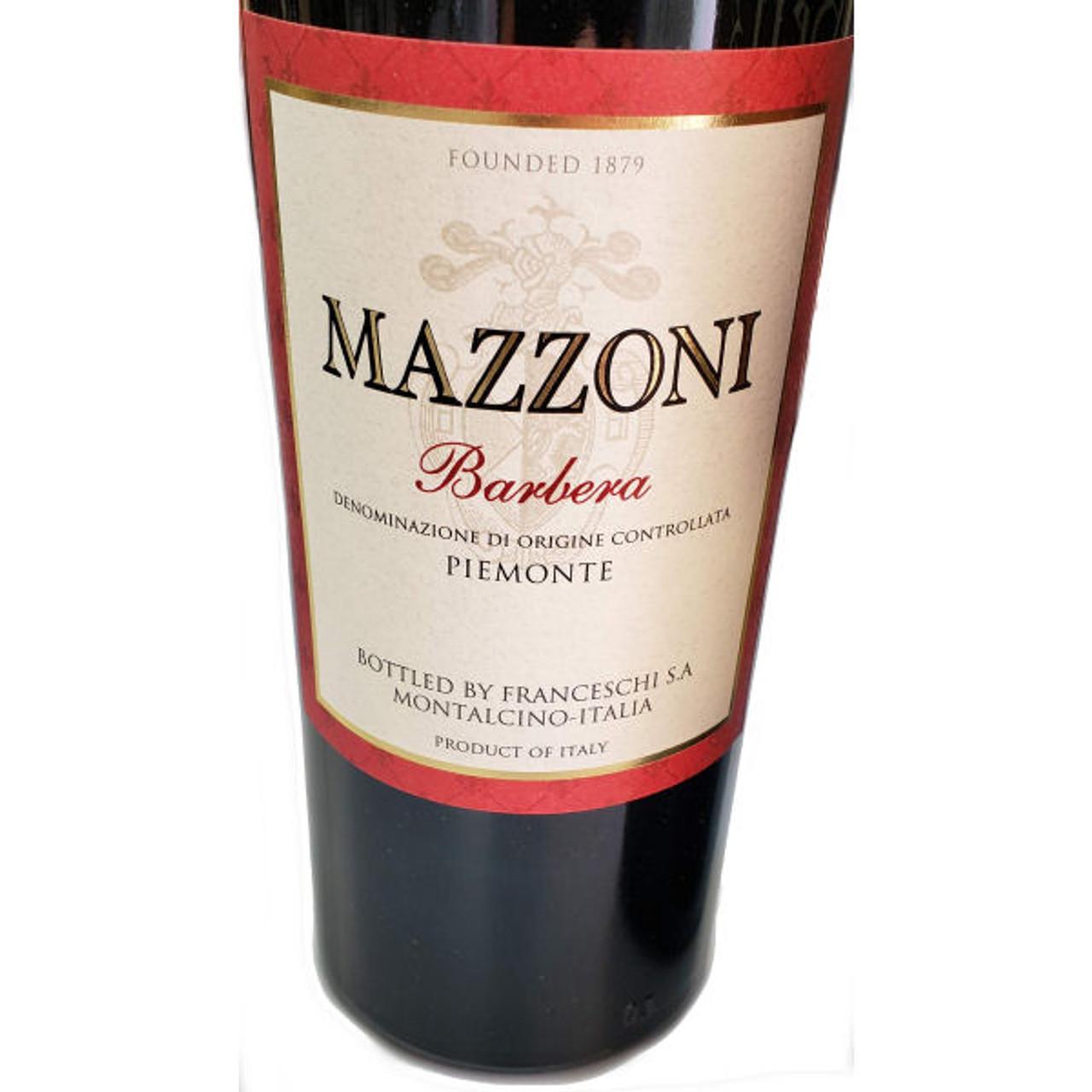 Mazzoni Barbera Piemonte DOC