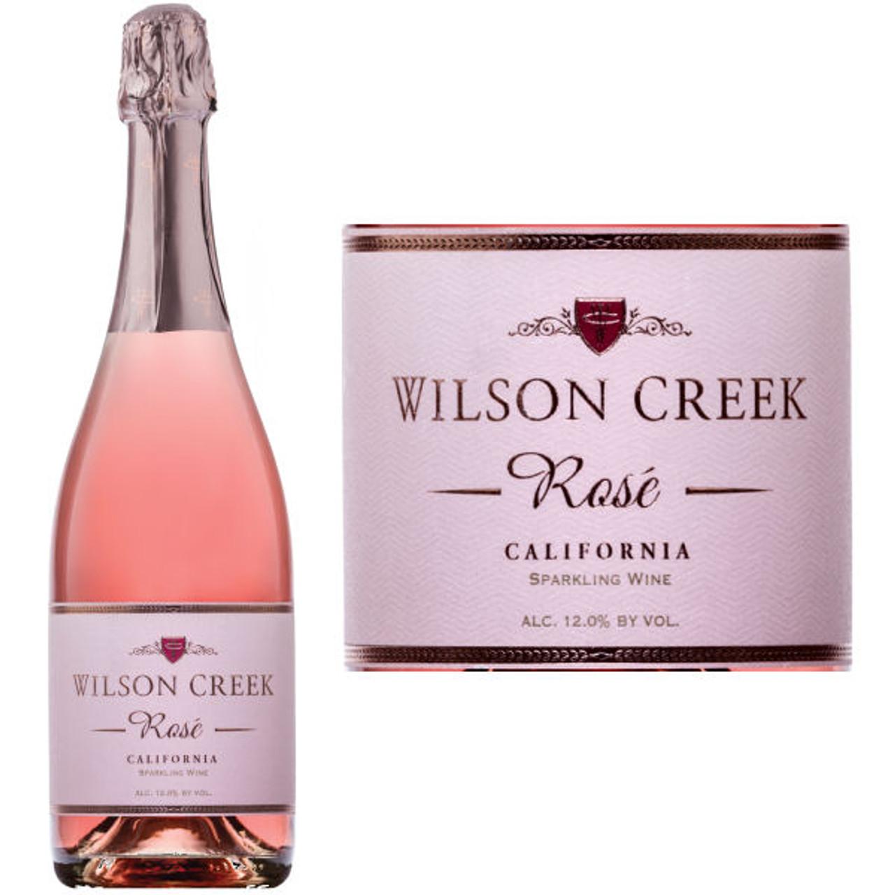 Wilson Creek Sparkling Rose