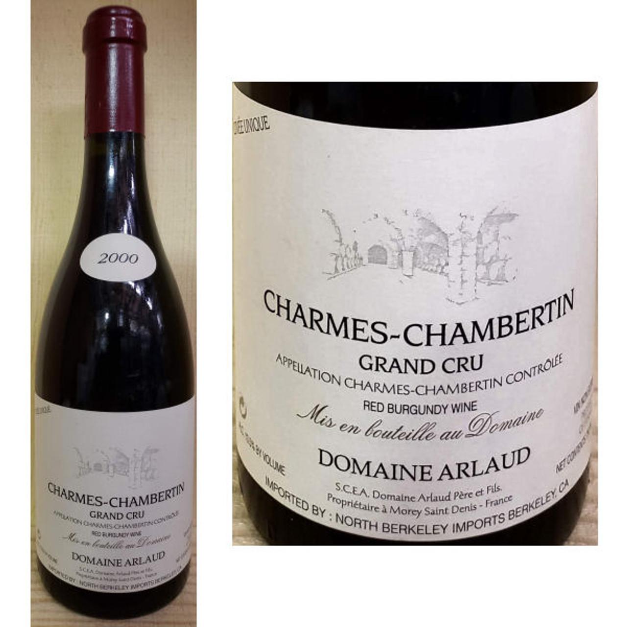 Domaine Arlaud Charmes-Chambertin Grand Cru Red Burgundy