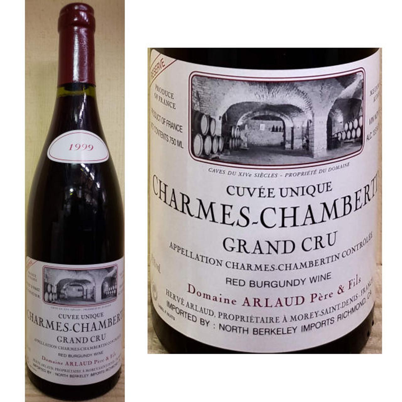 Domaine Arlaud Reserve Charmes-Chambertin Grand Cru Red Burgundy