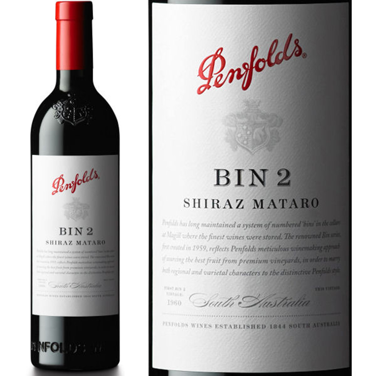 Penfolds Bin 2 South Australia Shiraz-Mataro