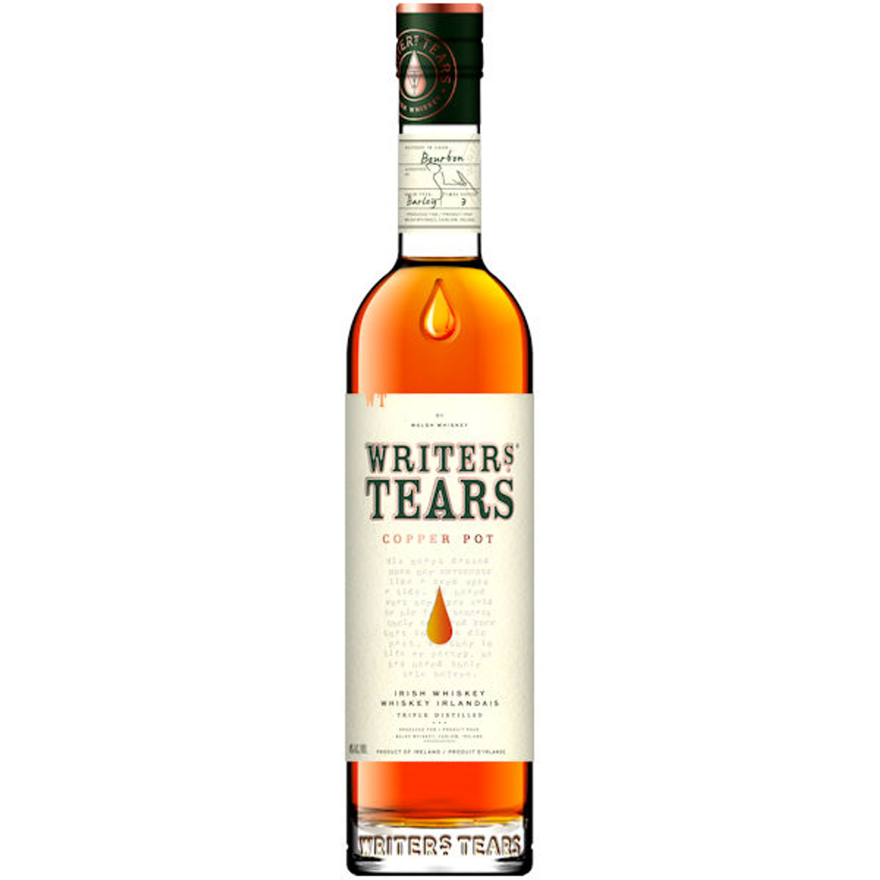 Writers' Tears Copper Pot Irish Whiskey 750ml