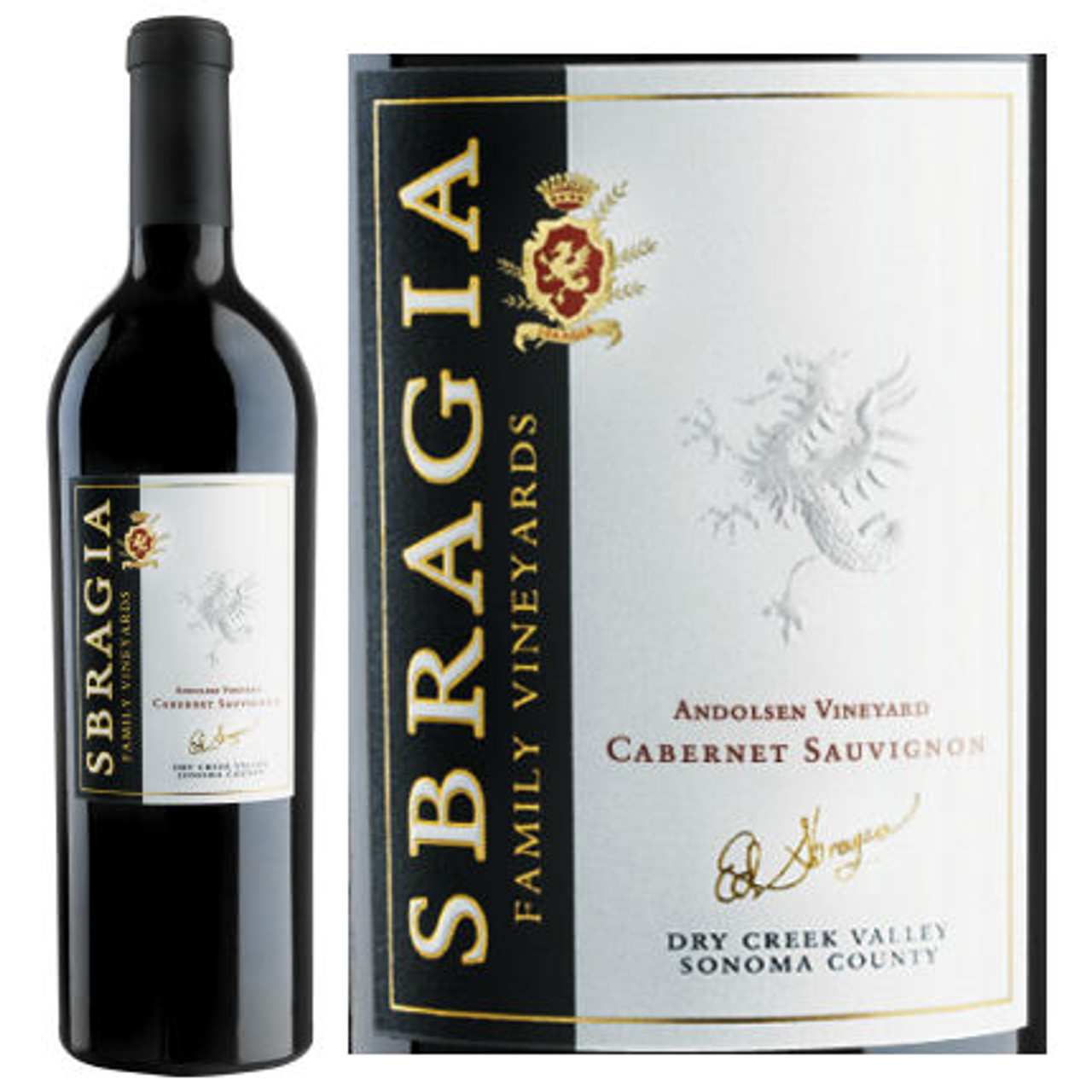 Sbragia Family Andolsen Vineyard Dry Creek Cabernet