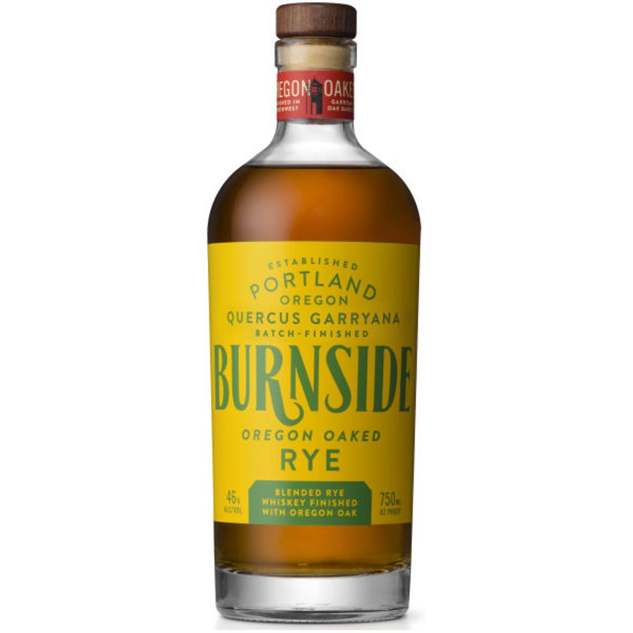 Burnside Oregon Oaked Rye Whiskey 750ml