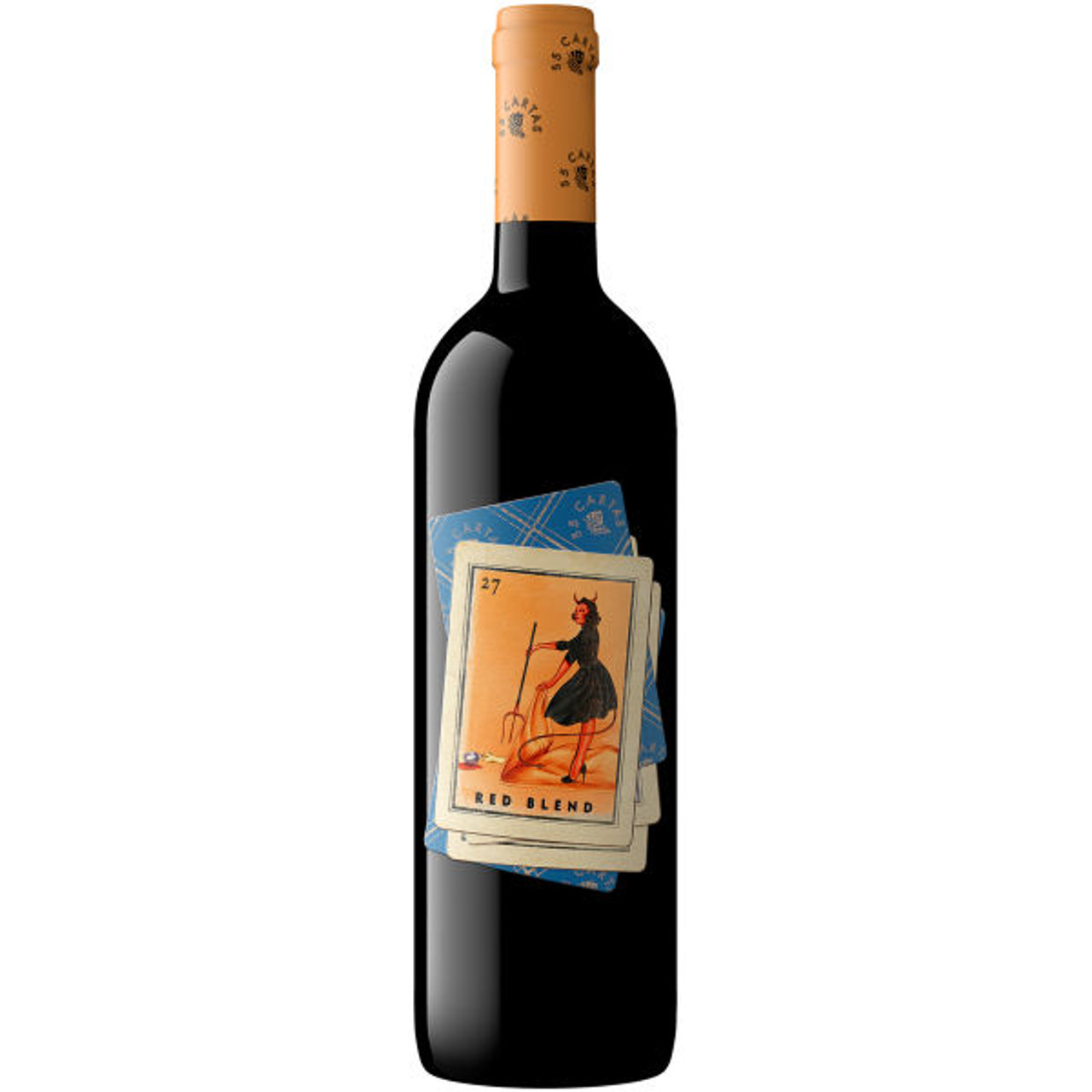 55 Cartas California Red Blend