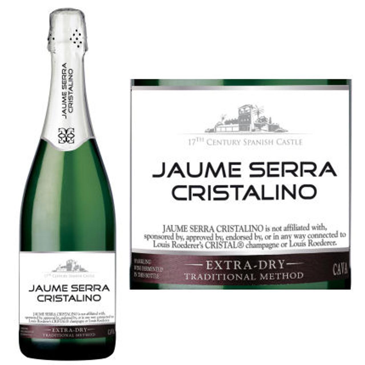 Jaume Serra Cristalino Extra Dry Cava NV Spain