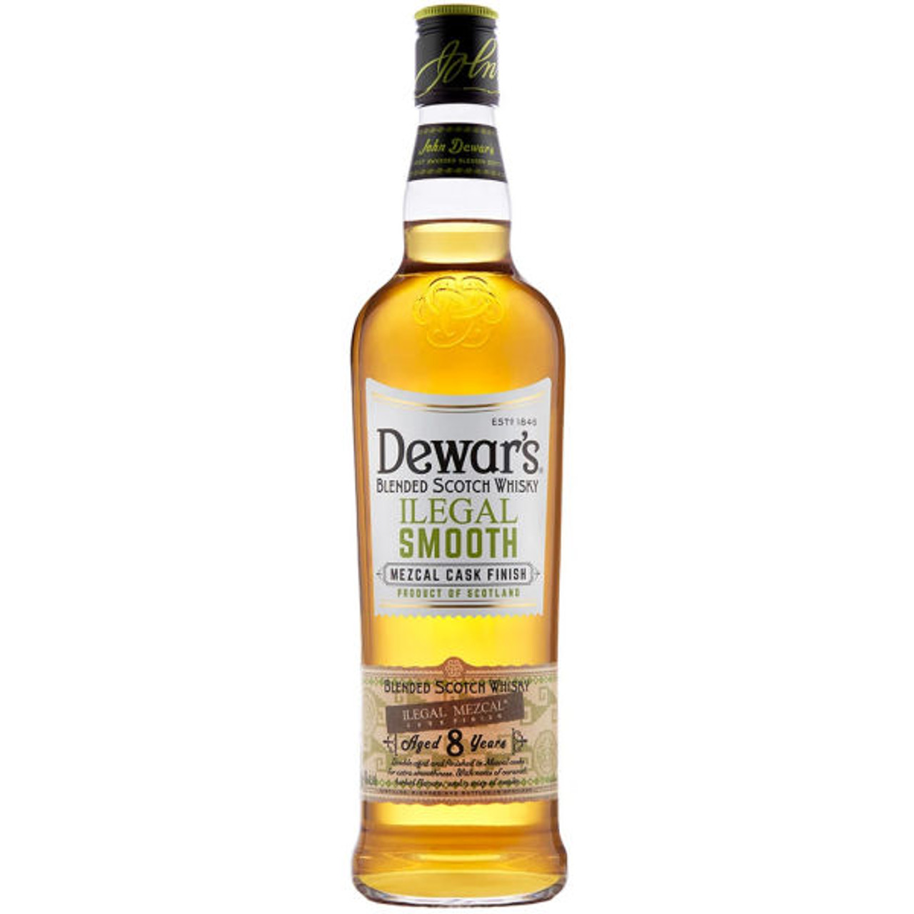 Dewar's Ilegal Smooth Blended Scotch Whisky 750ml
