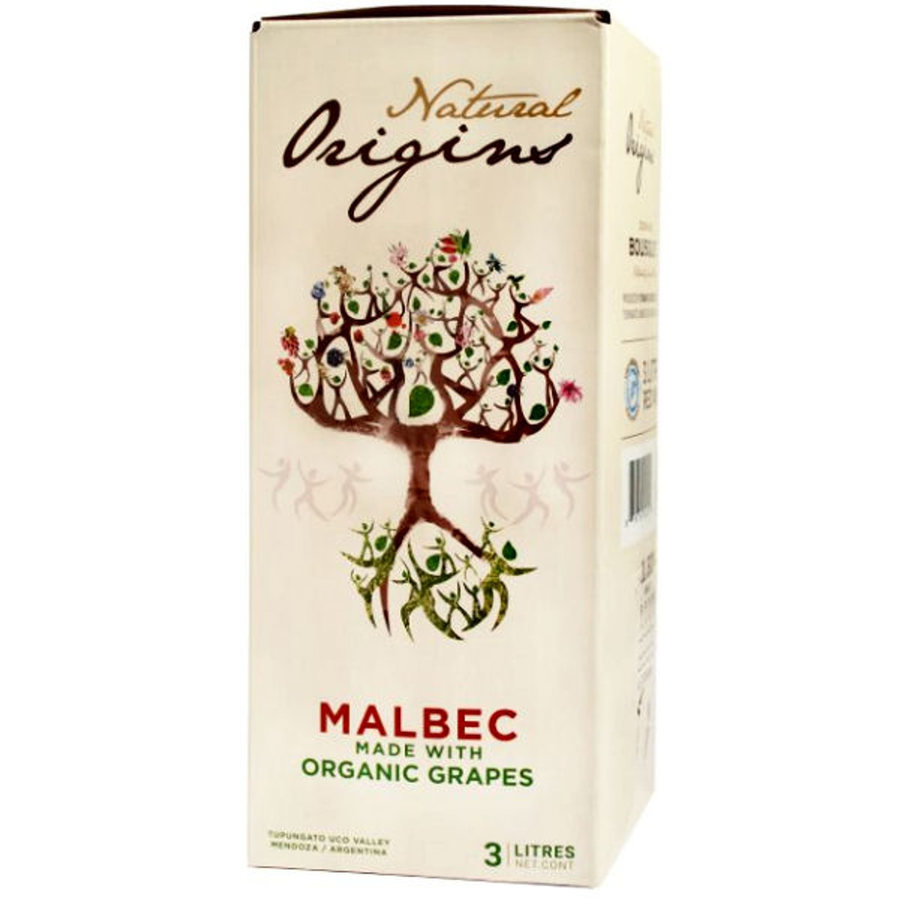 Domaine Bousquet Natural Origins Organic Malbec Bag-In-Box