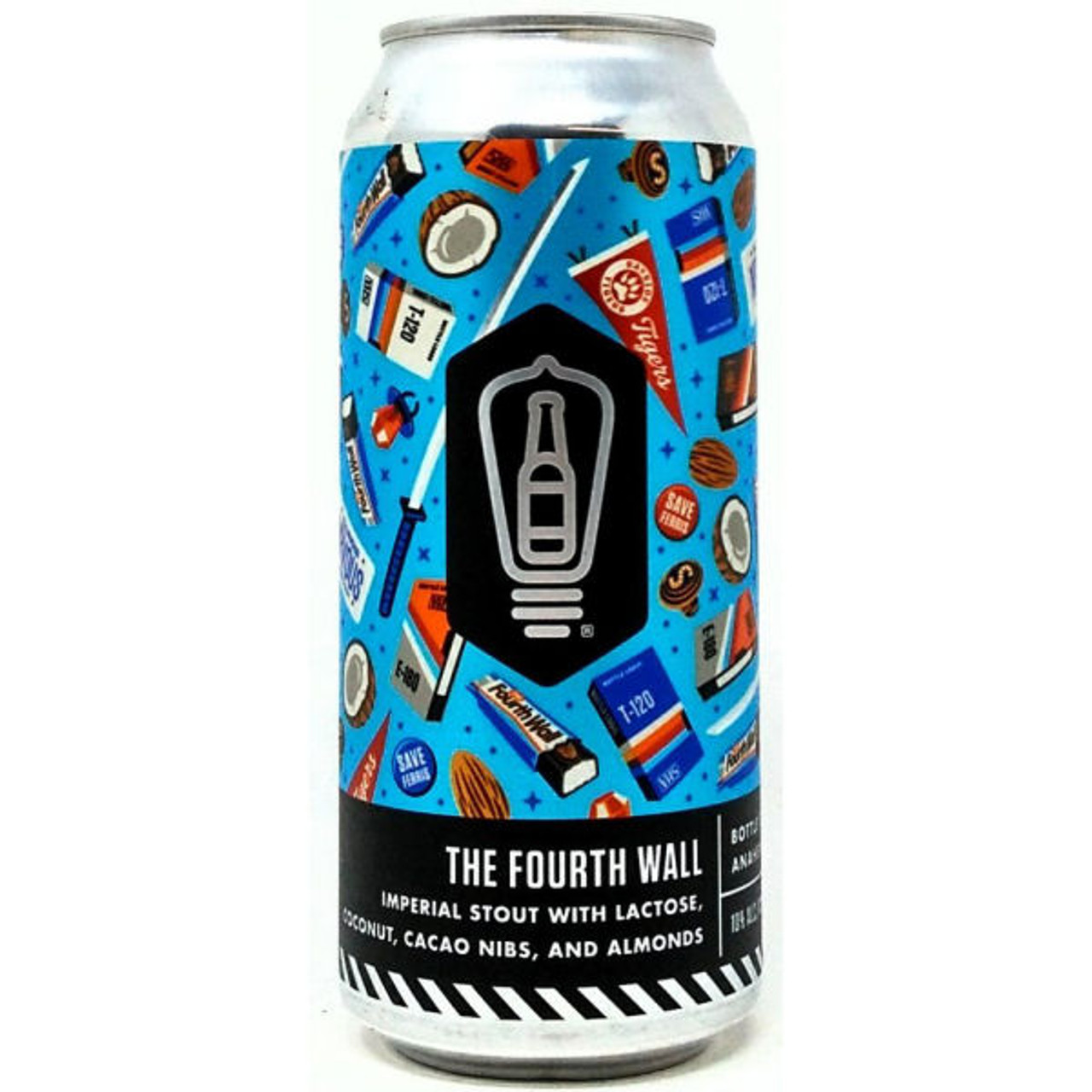 Bottle Logic The Fourth Wall Imperial Stout 16oz Can