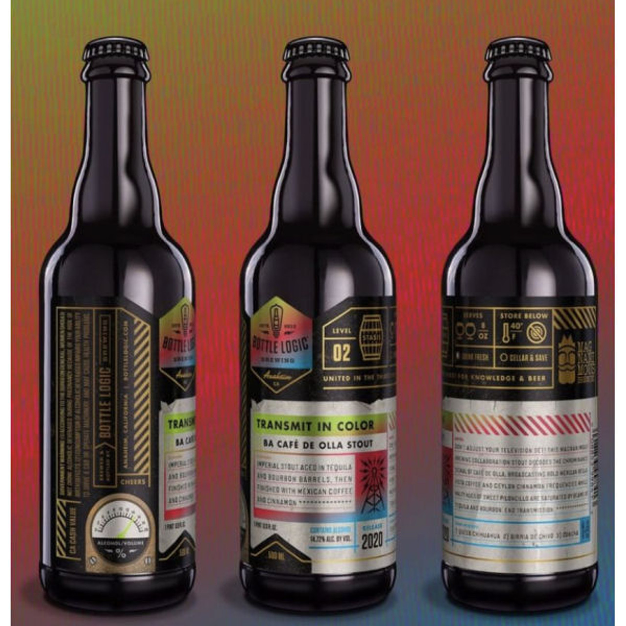 Bottle Logic Transmit in Color BA Cafe de Olla Stout 2020 500ml