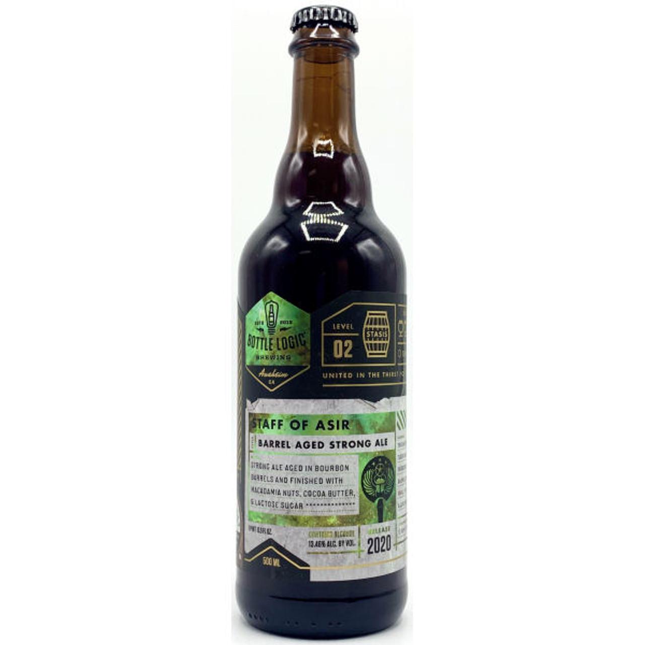 Bottle Logic Staff of Asir Barrel Aged Strong Ale 2020 500ml