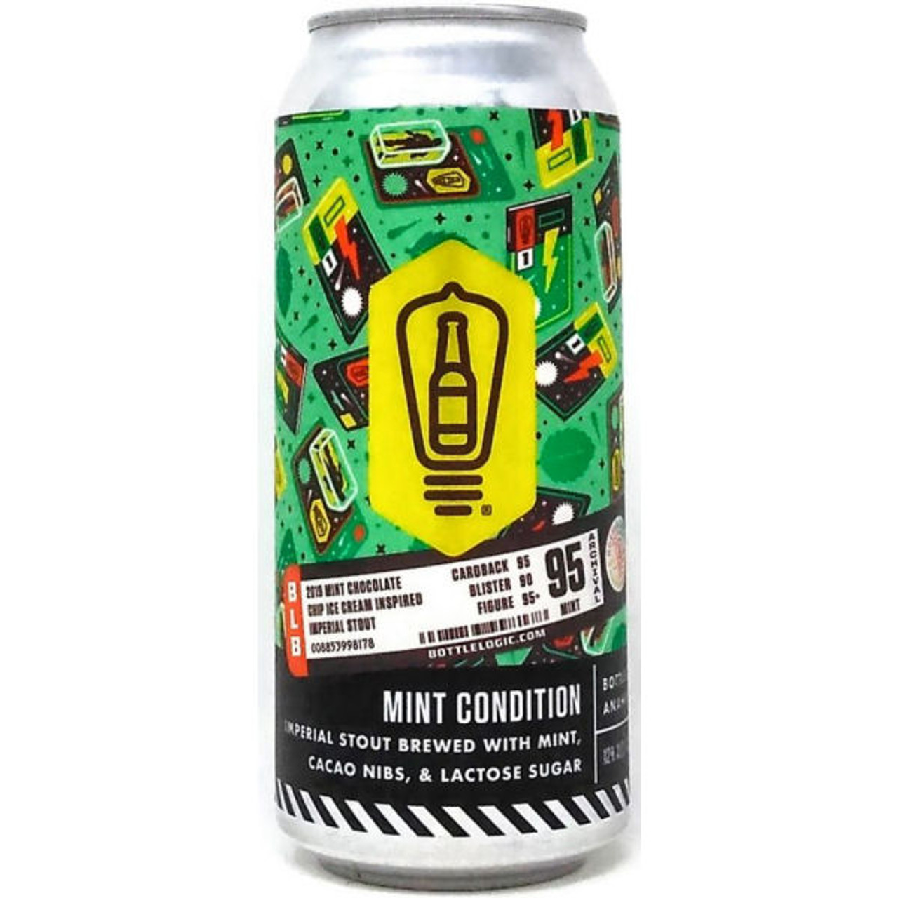 Bottle Logic Mint Condition Imperial Stout 16oz Can