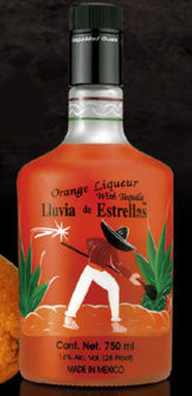 Lluvia de Estrellas Orange Liqueur with Tequila