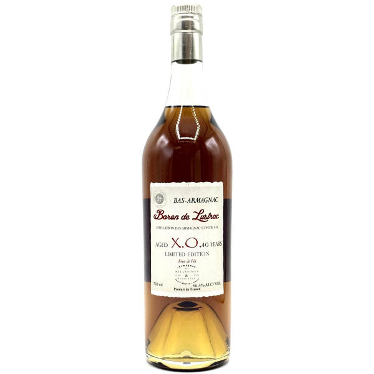 Baron de Lustrac 40 Year Old XO Bas Armagnac 750ml