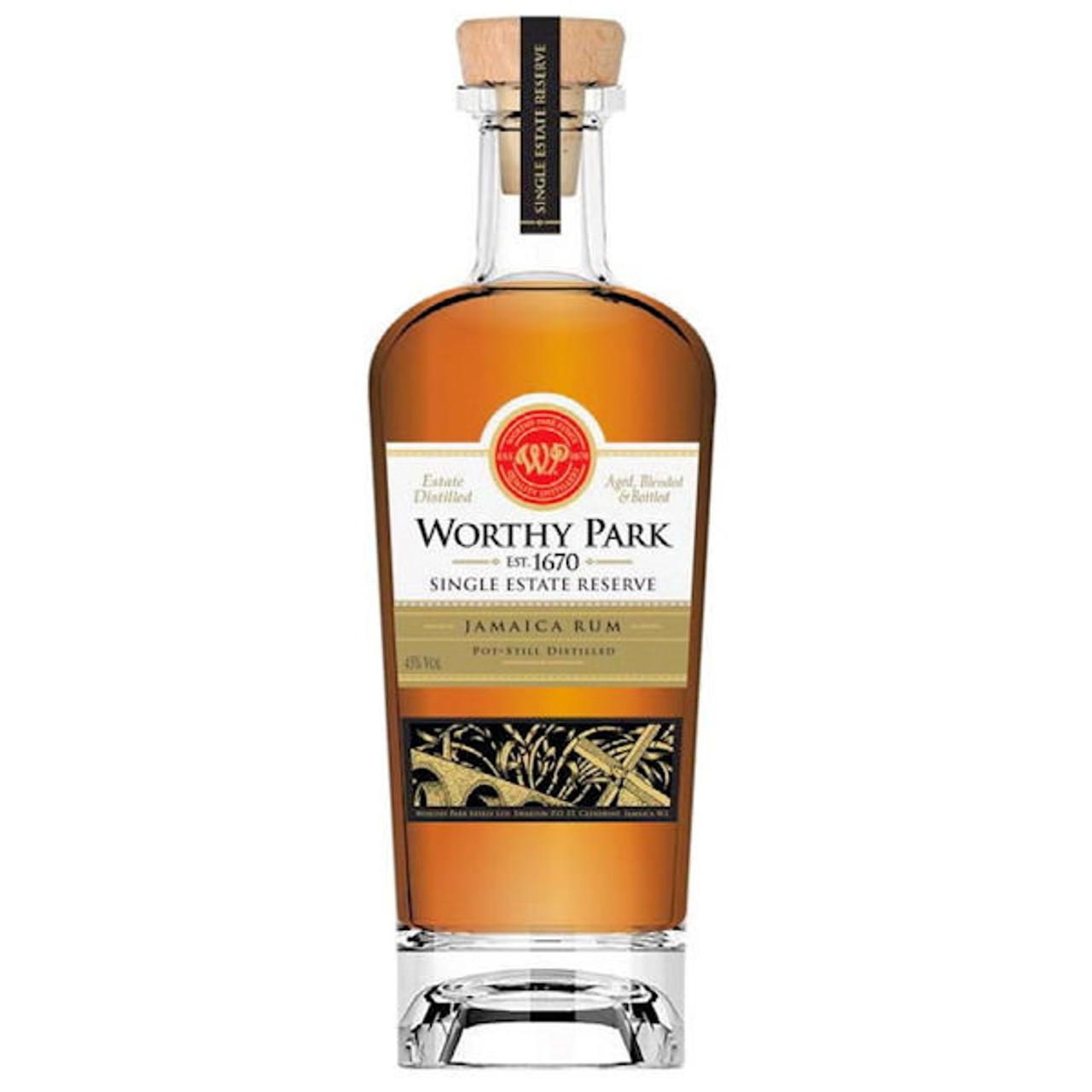 Worthy Park Single Estate Reserve Jamaica Rum 750ml