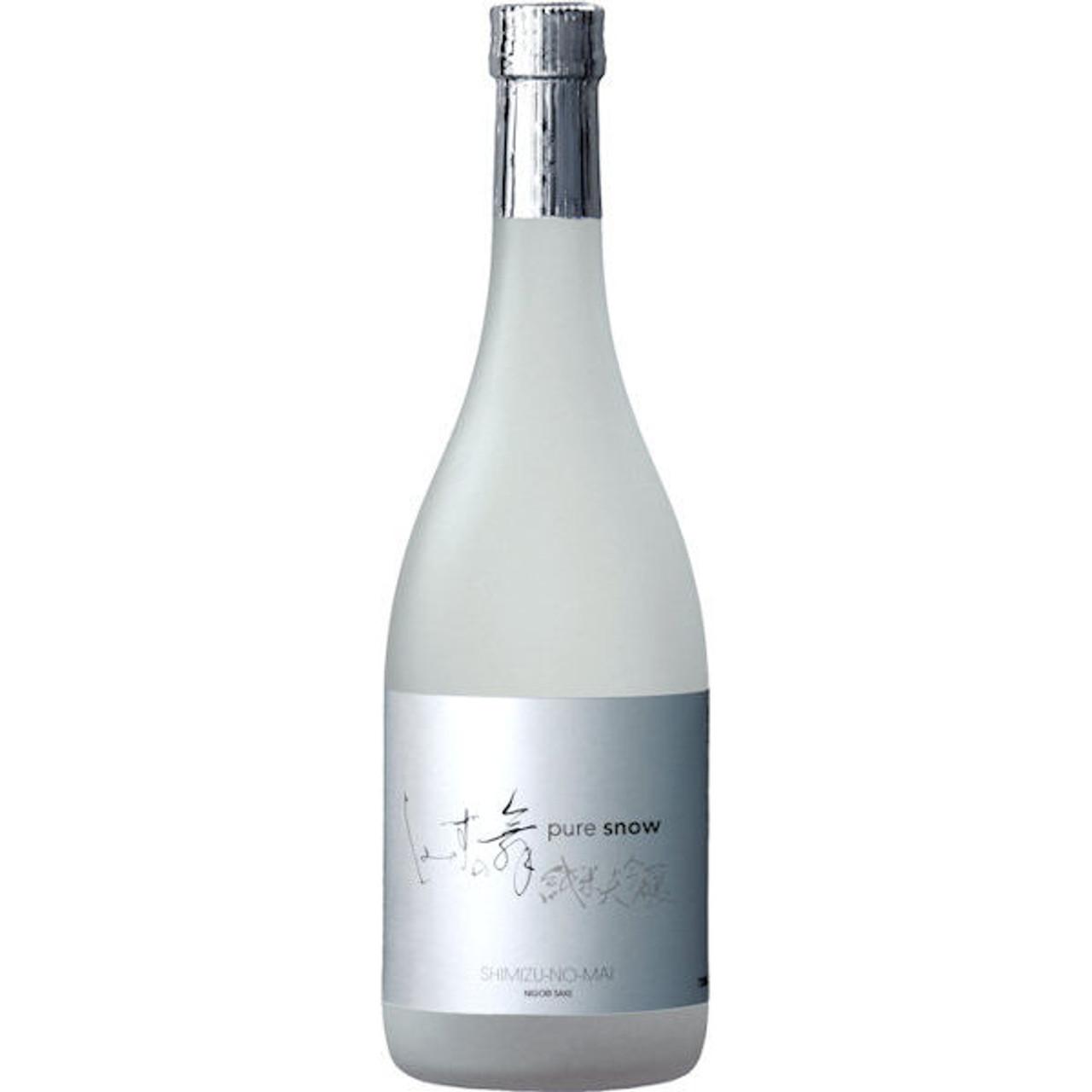Shimizu-no-Mai Pure Snow Nigori Premium Sake 720ml