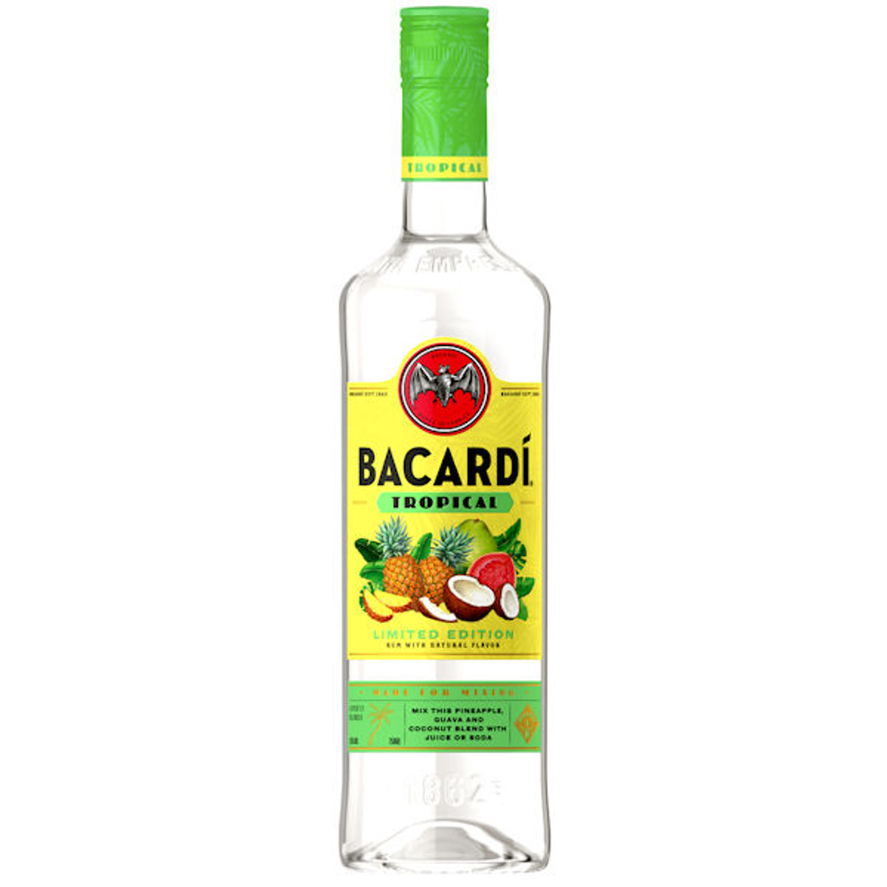 Bacardi Tropical Rum 750ml