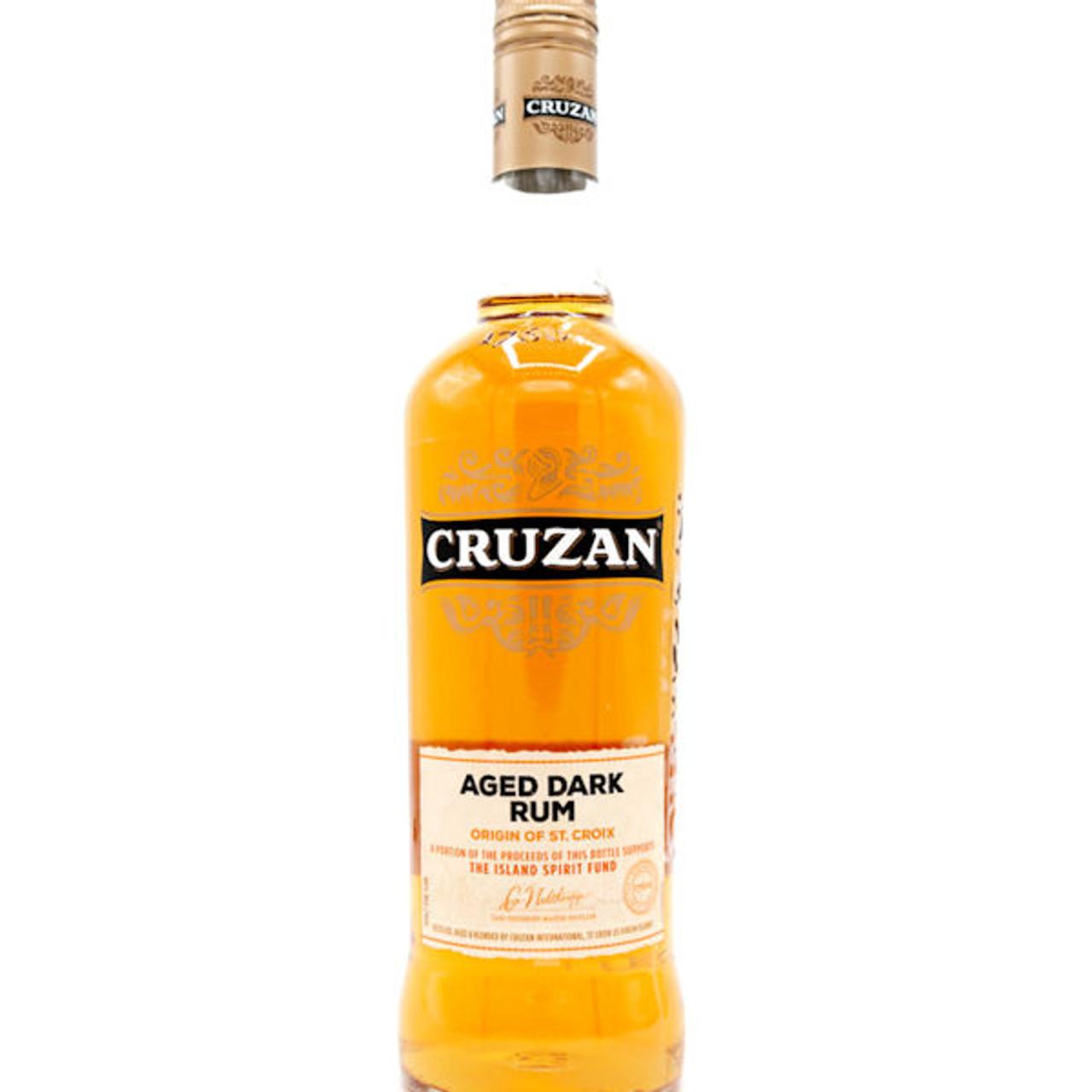 Cruzan Estates Aged Dark Rum St. Croix 750ml