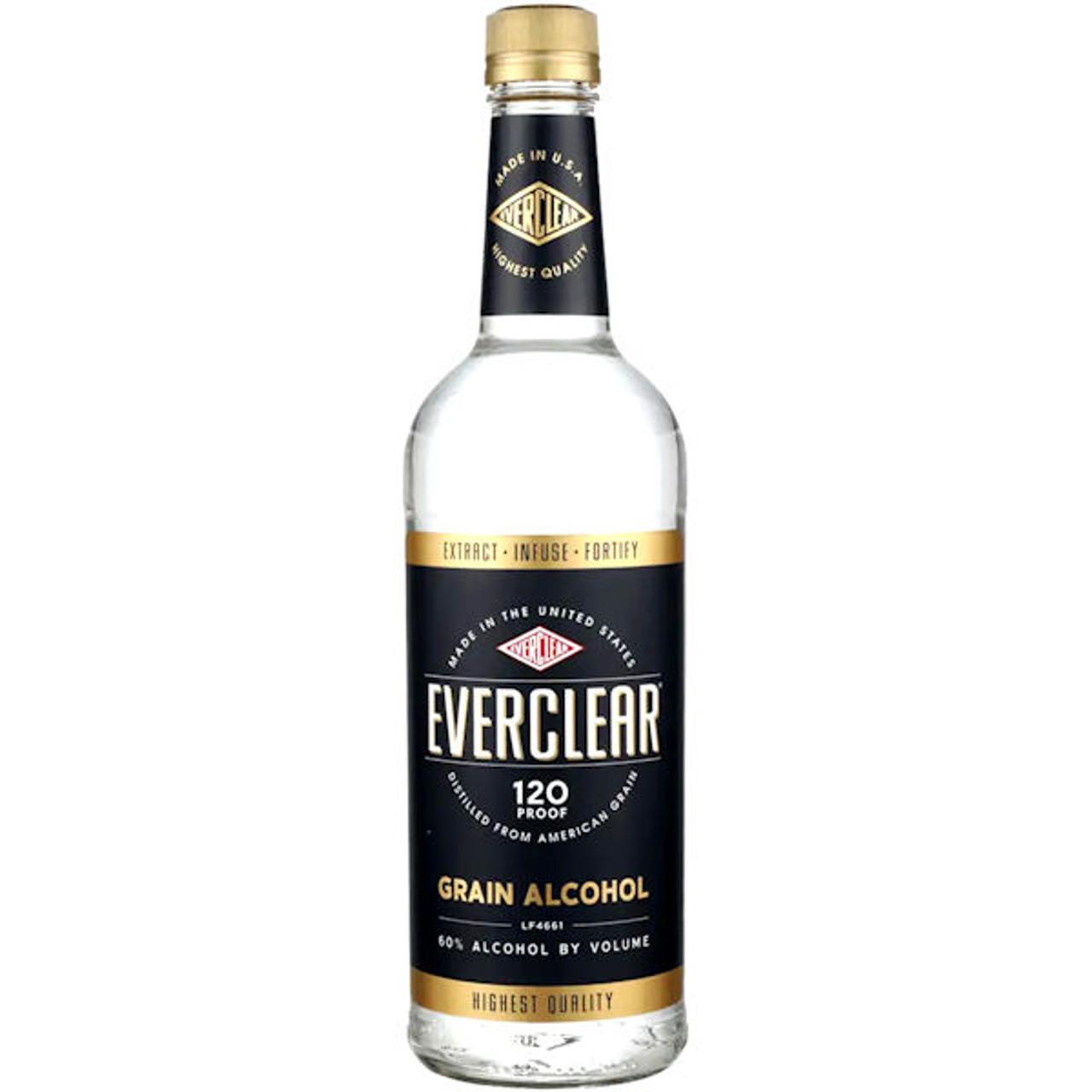 Everclear 120 Grain Alcohol 750ml