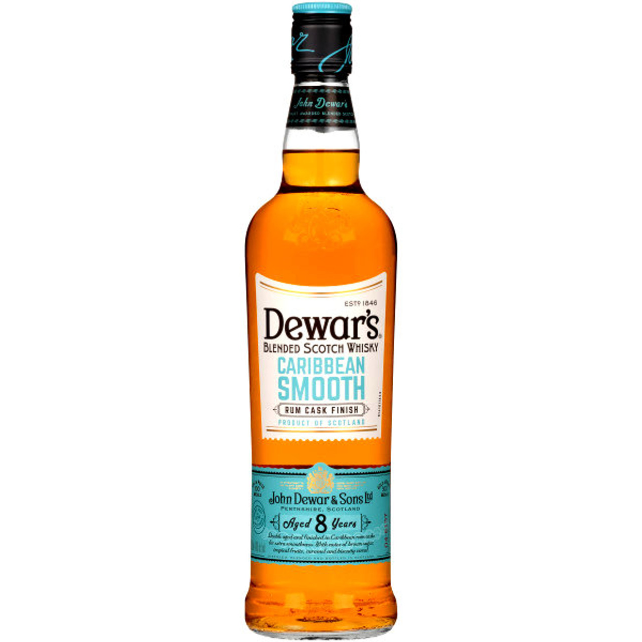 Dewar's Caribbean Smooth Blended Scotch Whisky 750ml