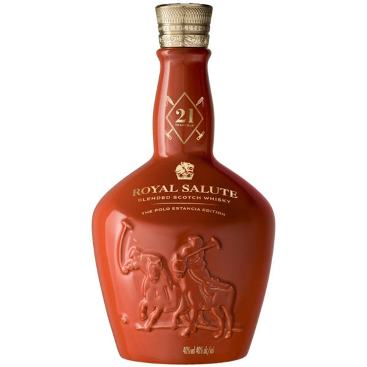 Chivas Regal Royal Salute 21 Year Old The Polo Estancia Edition Blended Scotch Whiskey 750ml