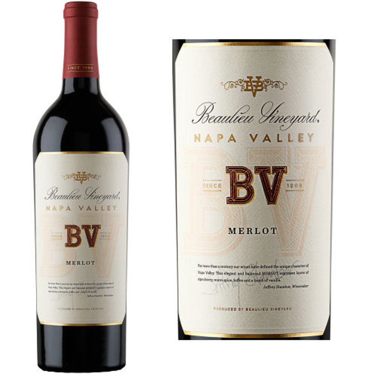 Beaulieu Vineyard Napa Merlot