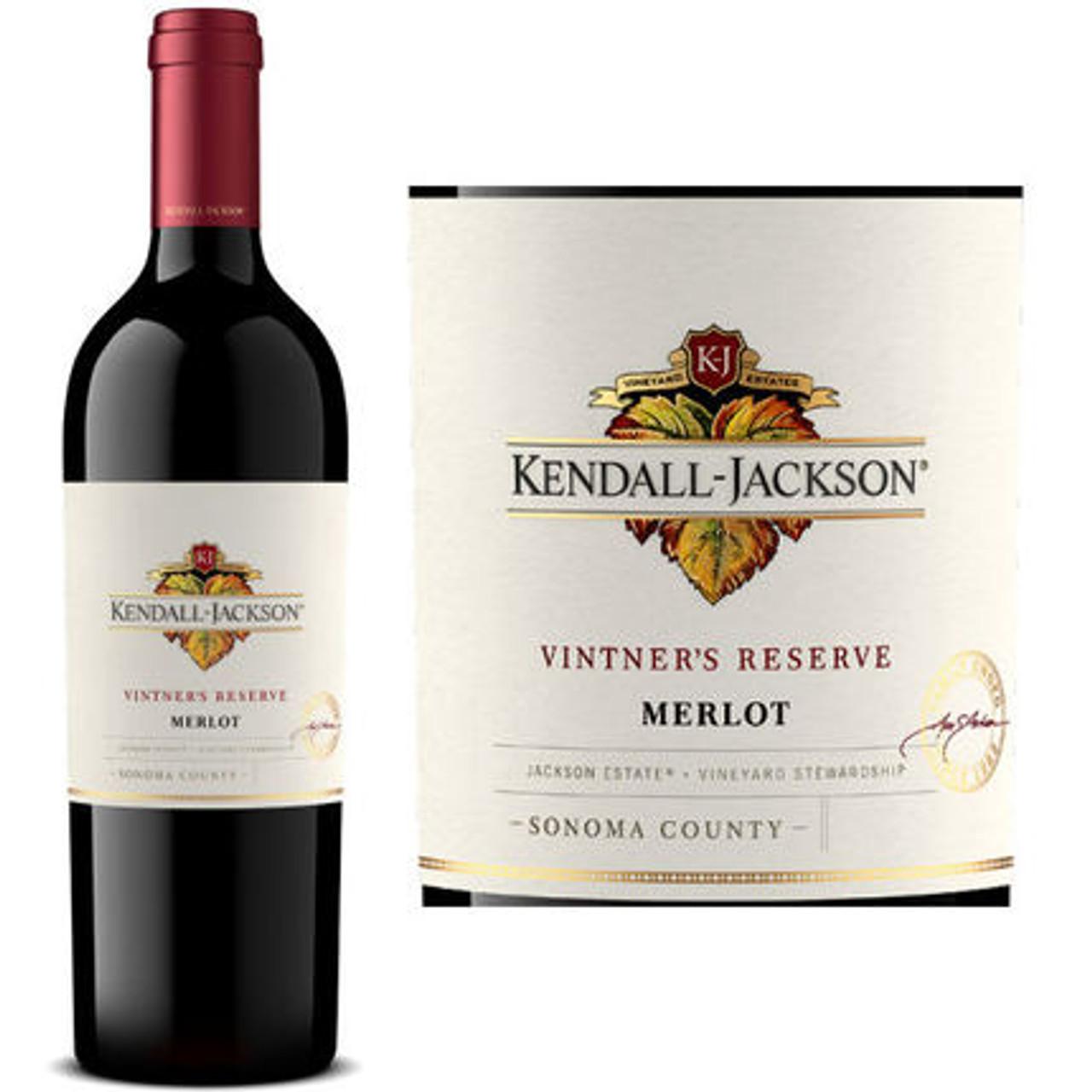 Kendall Jackson Vintner's Reserve Merlot