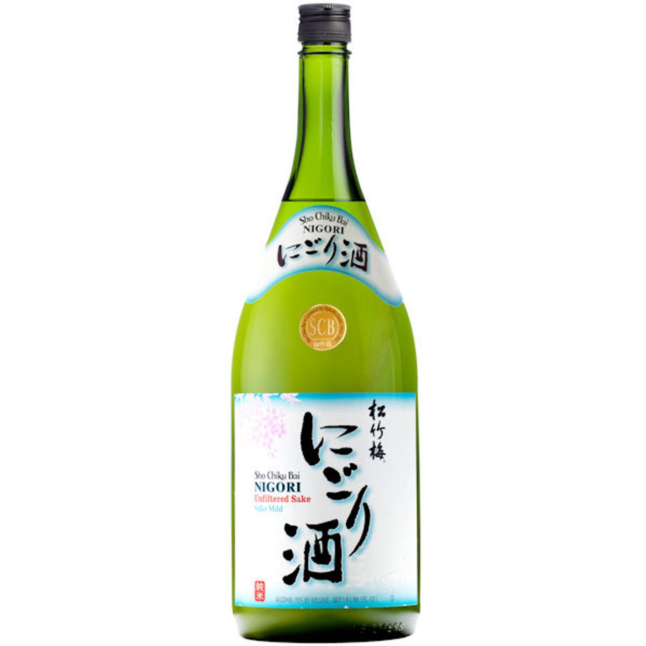 Sho Chiku Bai Junmai Nigori Sake US 1.5L (Unfiltered Sake)