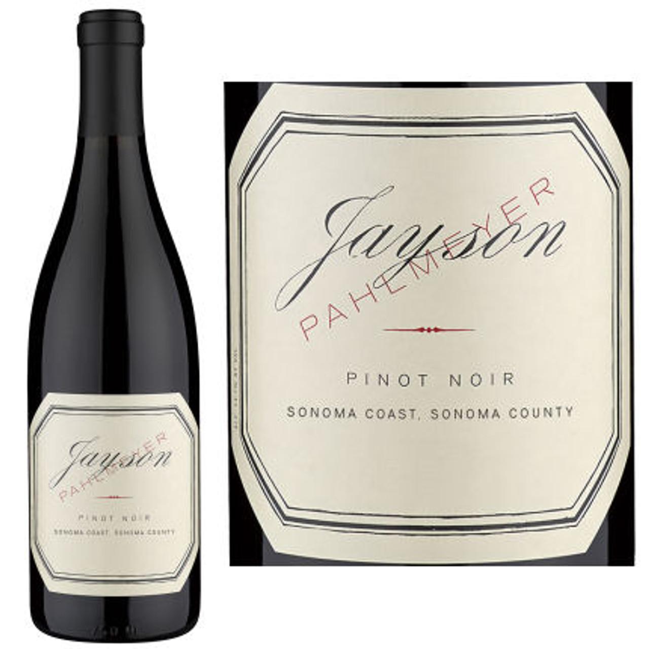 Jayson by Pahlmeyer Sonoma Coast Pinot Noir