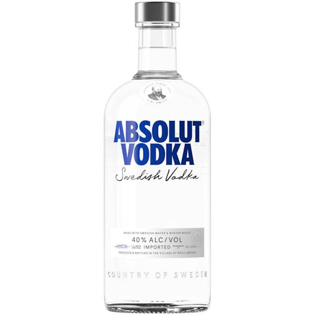Absolut Swedish Grain Vodka 750ml