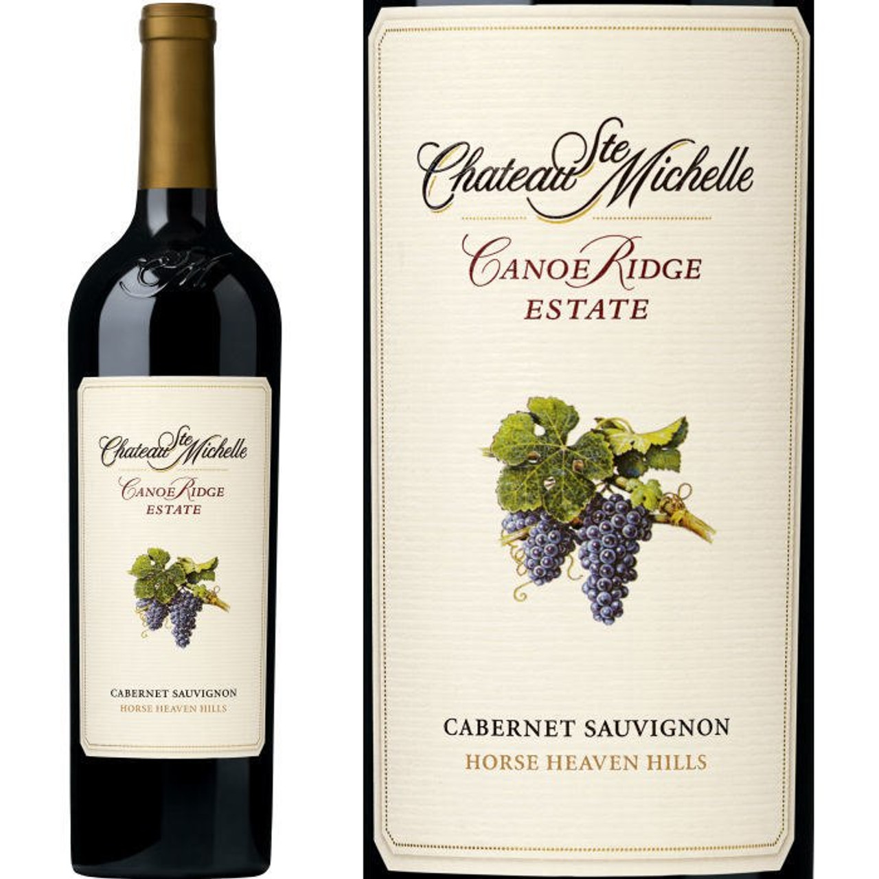 Chateau Ste. Michelle Canoe Ridge Estate Horse Heaven Hills Cabernet Washington