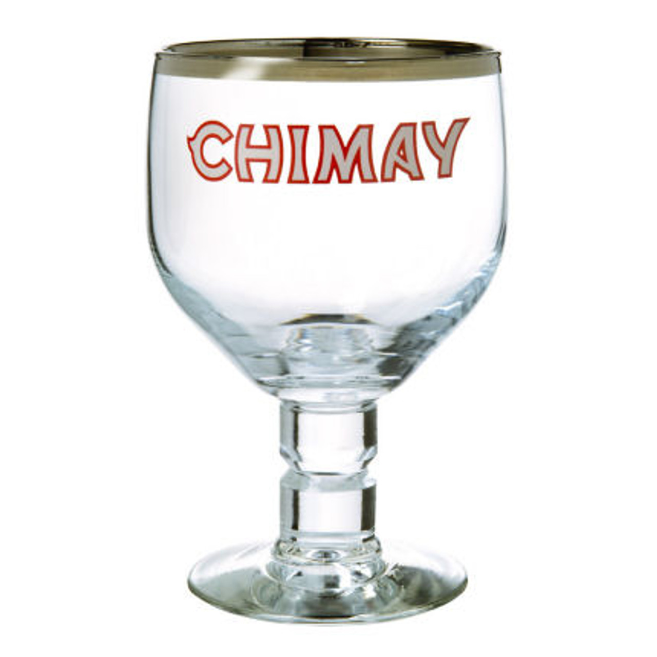Chimay Belgian Goblet Glass approx 12oz