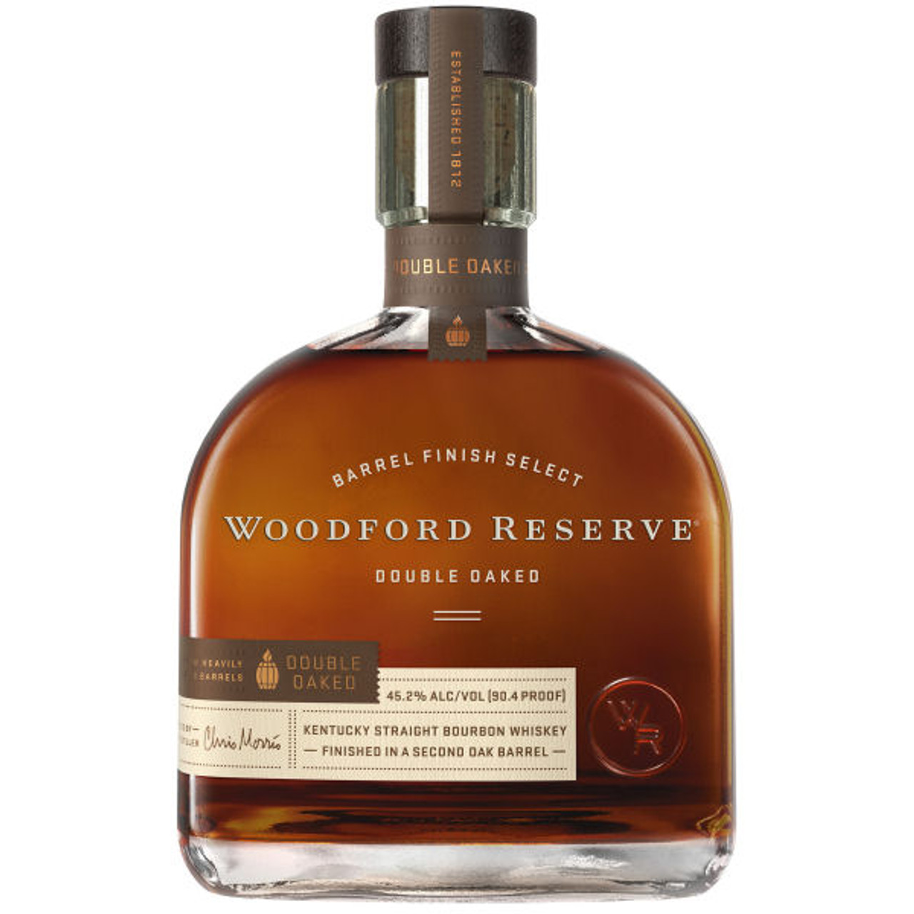 Woodford Reserve Double Oaked Straight Bourbon Whiskey 750ml