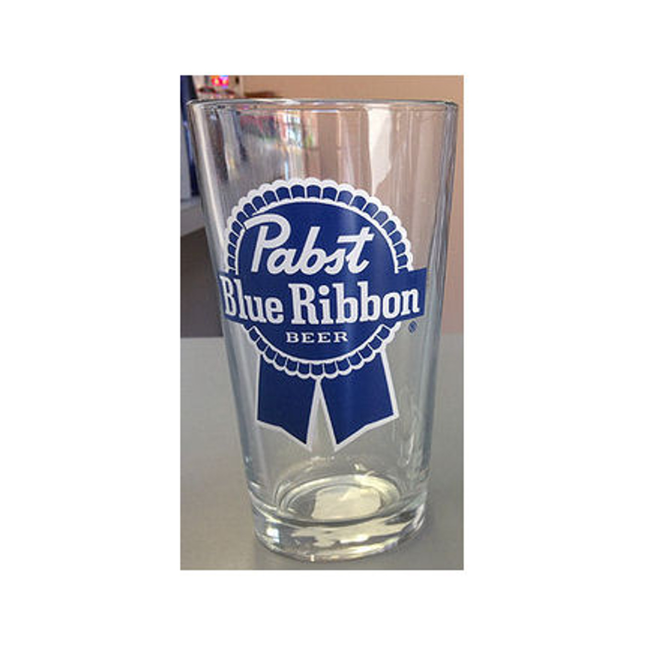 Pabst Beer Pint Glass Approx 16oz