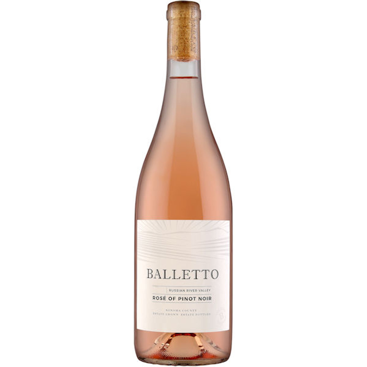 Balletto Russian River Rose of Pinot Noir