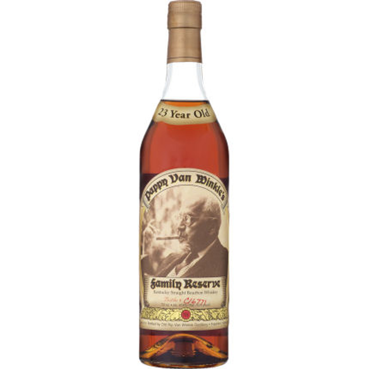 Pappy Van Winkle's Family Reserve 23 Year Old Bourbon Whiskey 750ml
