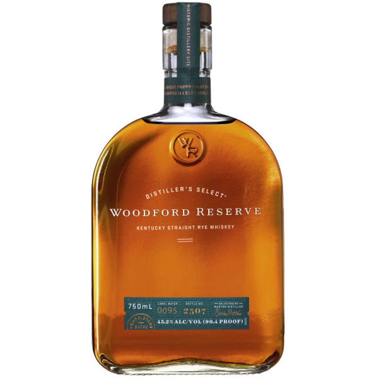 Woodford Reserve Kentucky Straight Rye Whiskey 750ml