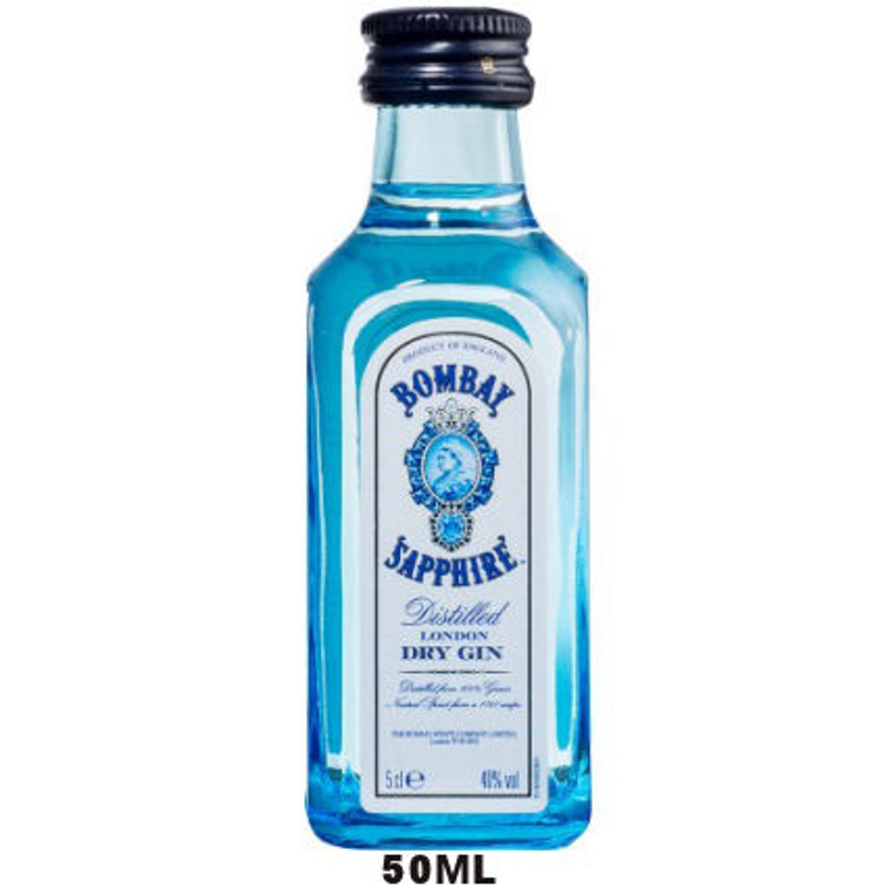 50ml Mini Bombay Sapphire London Dry Gin
