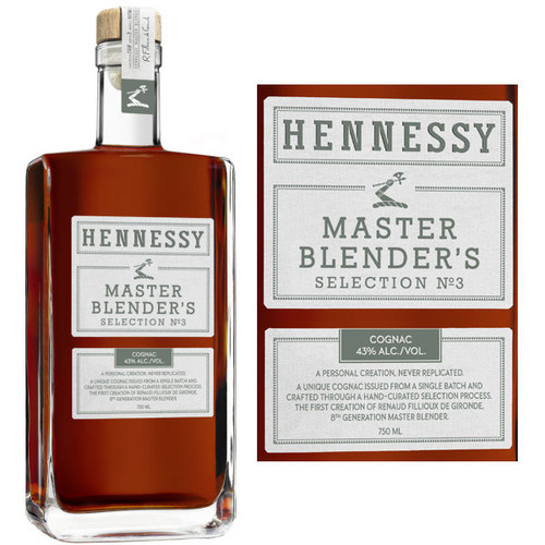 Hennessy Master Blender's Selection No. 3 Cognac 750ml