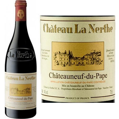Chateau La Nerthe Chateauneuf du Pape Rouge