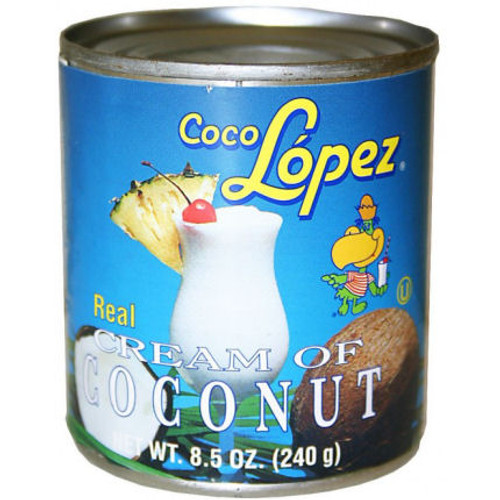 Coco Lopez Cream of Coconut 8.5oz