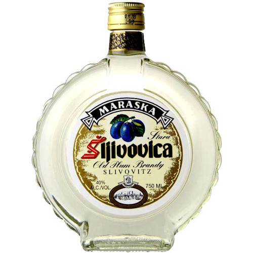 Maraska Slivovitz Old Plum Brandy Croatia 750ml