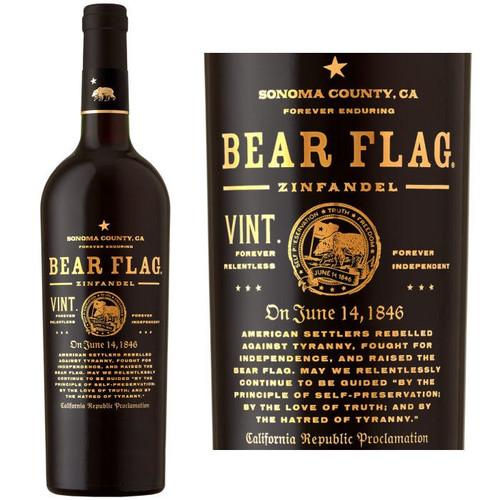 Bear Flag Sonoma Zinfandel 2015 Rated 92WS