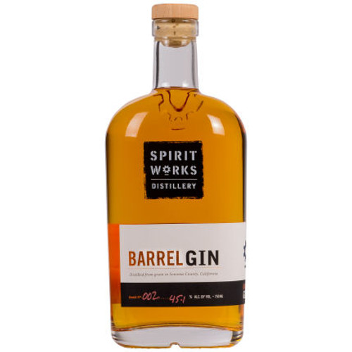 Spirit Works Distillery California Barrel Gin 750ml