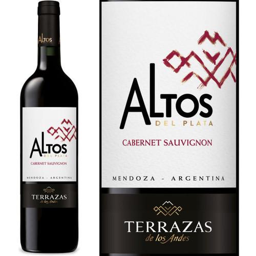 12 Bottle Case Terrazas De Los Andes Altos Del Plata Cabernet 2018 W Free Shipping