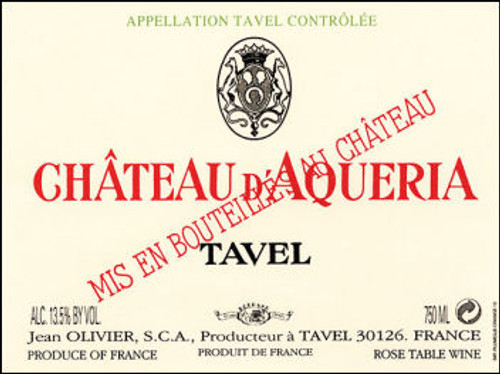 Chateau d'Aqueria Tavel Rose