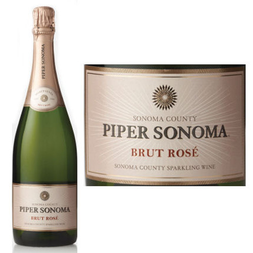 Piper Sonoma Brut Rose NV
