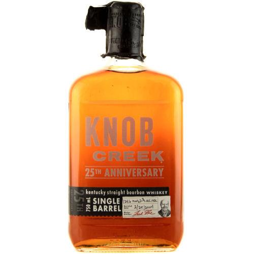 Knob Creek 25th Anniversary Single Barrel Kentucky Straight Bourbon Whiskey 750ml