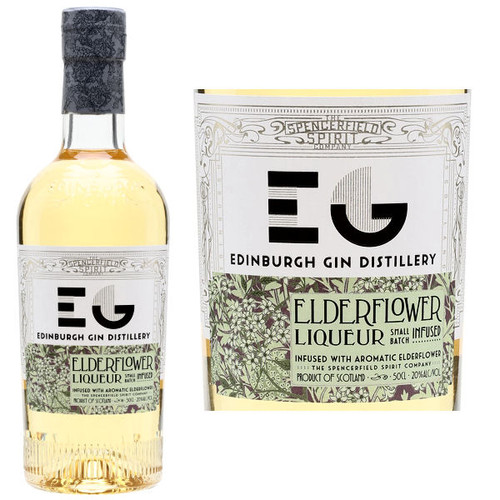 Edinburgh Gin Elderflower Liqueur 750ml